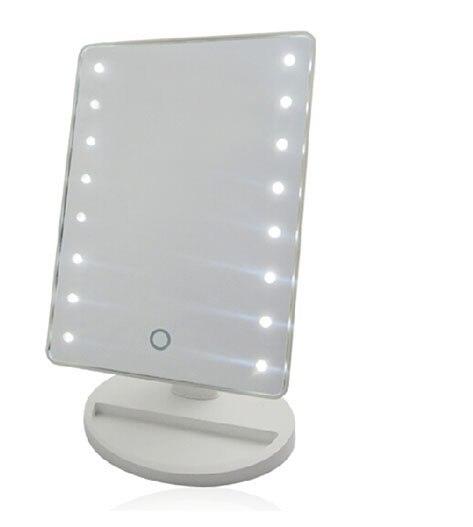 led verlichting grote desktop make up spiegel licht spiegel mode ...