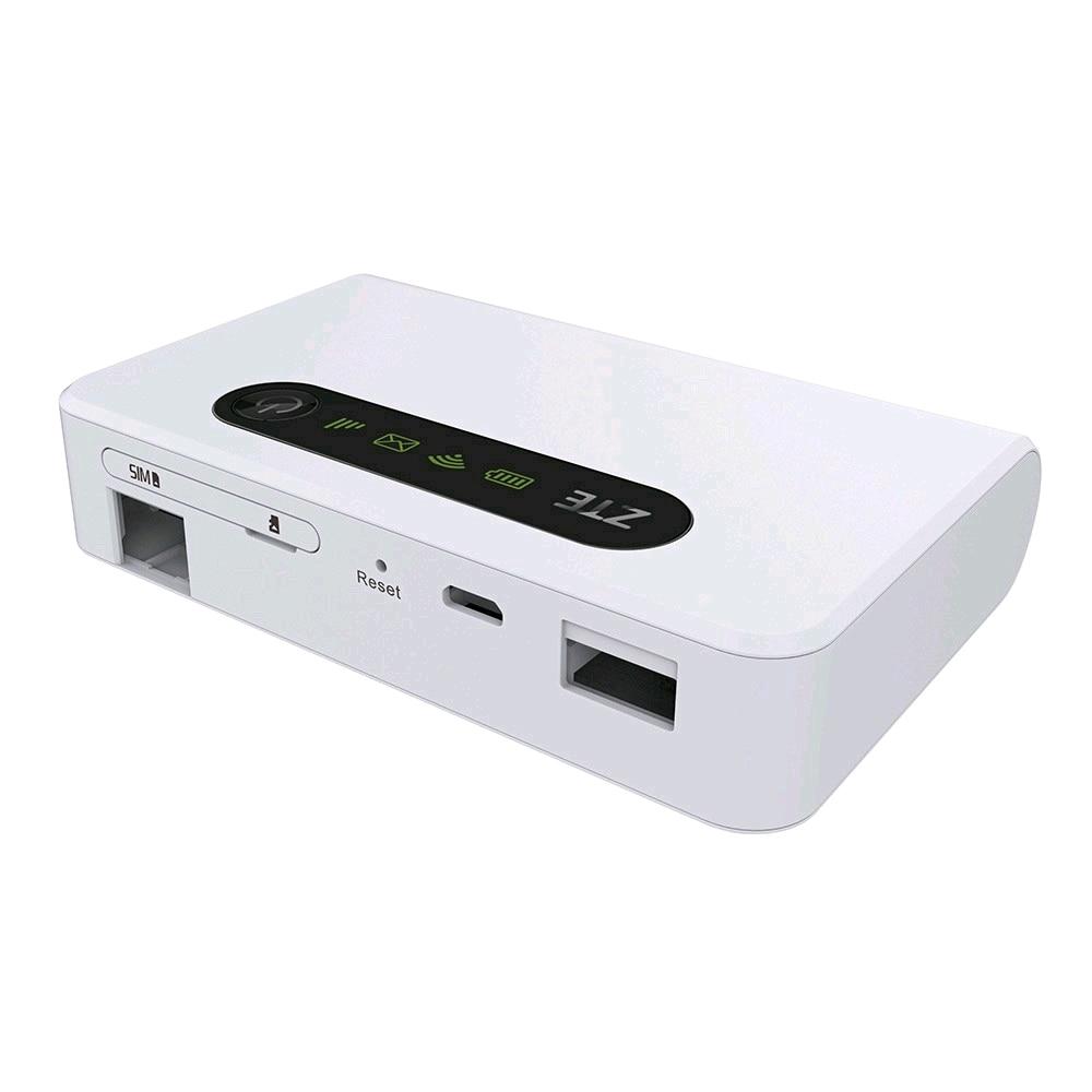ZTE MF903 4 modes 4G routeur avec 5200 mah batterie externe avec Port Lan poches sans fil mobiles Wifi Hotspot Modem Portable