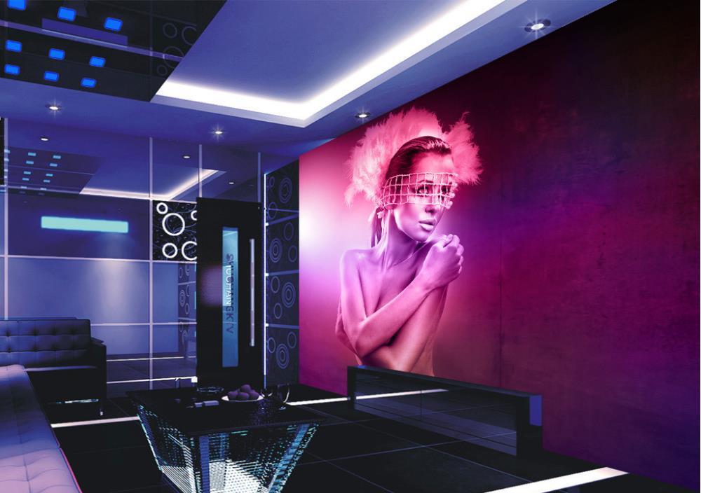 3D wallpaper/custom photo wall paper/Naked woman body art/TV/sofa/Bedroom/KTV/Hotel/living room/Children room