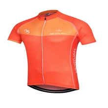 2016 Hot Sale Man Racing Cycling Jersey Short Sleeve Bike Bicycle Cycling Jersey Tops Outdoor Clothings Shirts Size S-5XL Orange