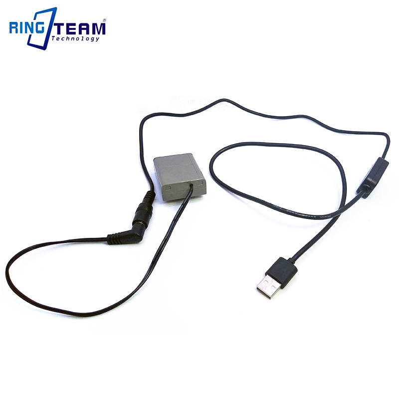 PS-BLN1 BLN-1 BLN1 Dummy Battery DC Coupler Plus 5V USB Power Bank Cable for Olympus Digital Camera OM-D E-M5 II 2 E-M1 PEN E-P5