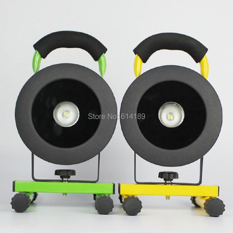 Boruit RJ-2138 12W CREE XM-L2 3-Mode Portable Floodlight +3x18650+Charger+USB Cable+ Car Adaptor