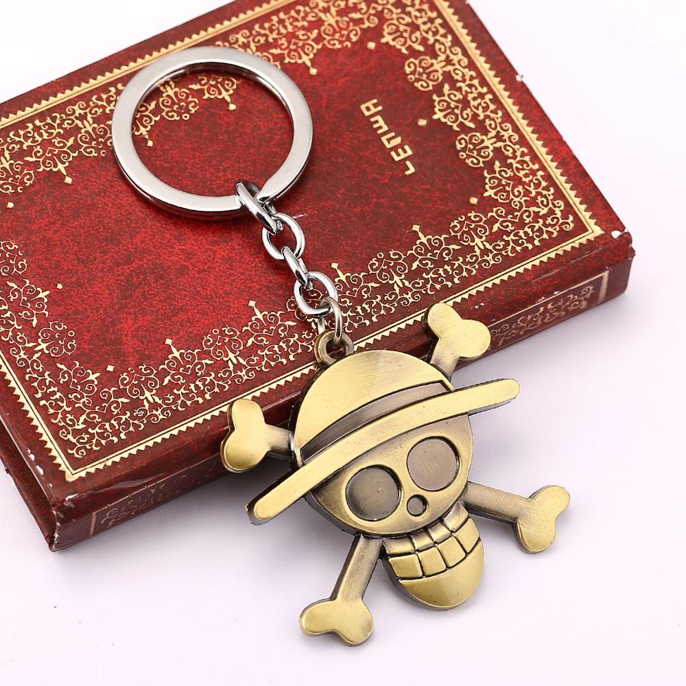 Great Luffy Skull Keychain