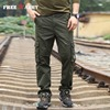 New Fashion Mens Pants 2016 Brand Male Trousers Casual Pockets Solid Sweatpants Outdoor Jogging Overalls Large