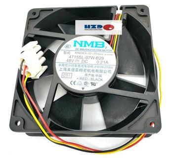 NMB 12038 48v 0.21a 4715SL-07W-B29 3wire Cooling fan 120*120*38MM