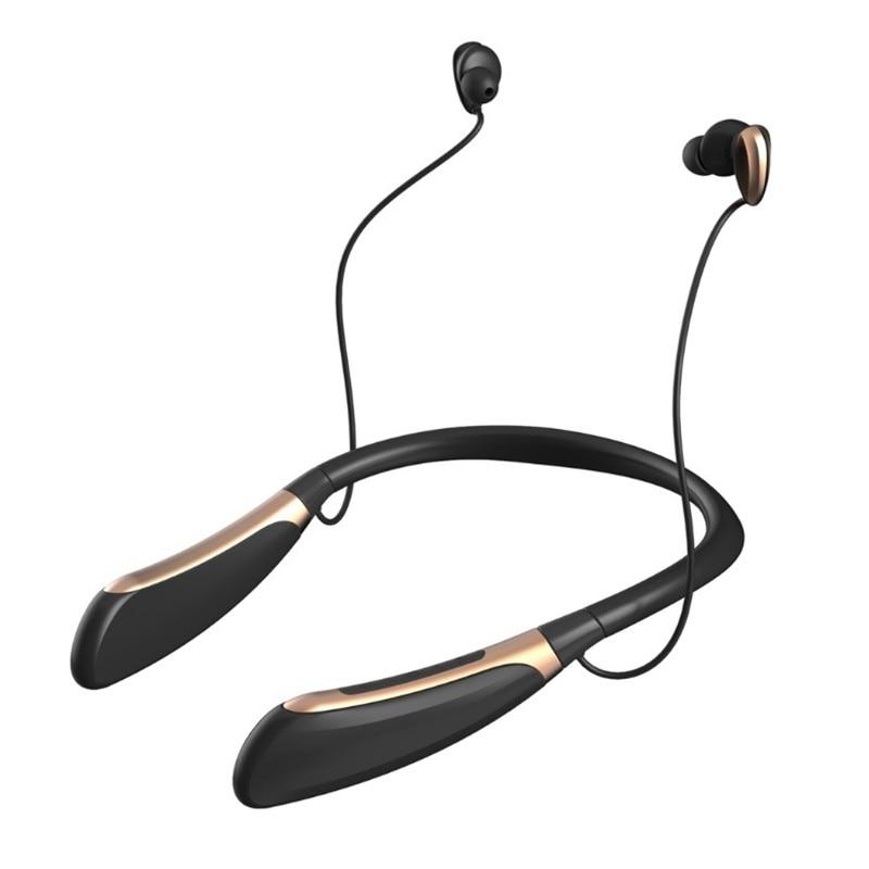 3d44774378e Auriculares inalámbricos K996 Bluetooth 4,1 con banda para el cuello  estéreo para auriculares deportivos con micrófono para Samsung iPhone Xiaomi