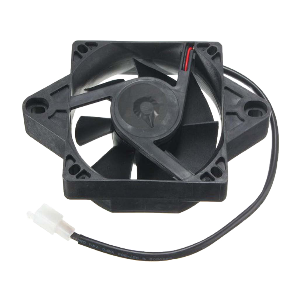 Image 5 - 1 Pcs Oil Cooler Water Cooler New Electric Radiator Cooling Fan For 150cc 250cc ATV Quad Go Kart Buggy Dirt Bike Motorcycle Etc-in Fans & Kits from Automobiles & Motorcycles