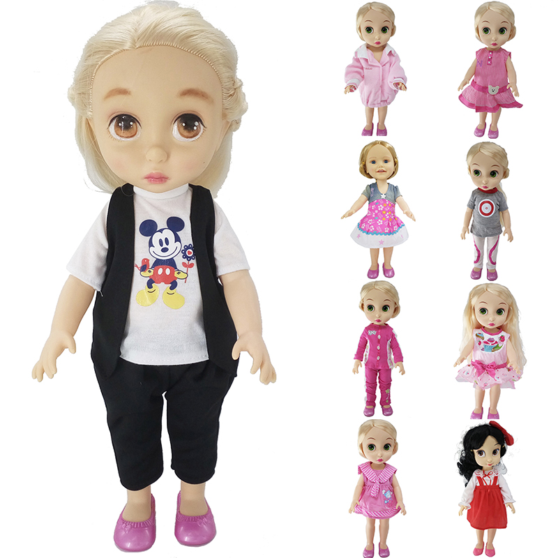 Toys & Hobbies Dolls & Stuffed Toys 3 Sets/lot 16 Inches 40 Cm For Sharon Girl Doll Clothes Handmade Lady Jacket Sportswear Dress Doll Accessories Toy Free Shipping