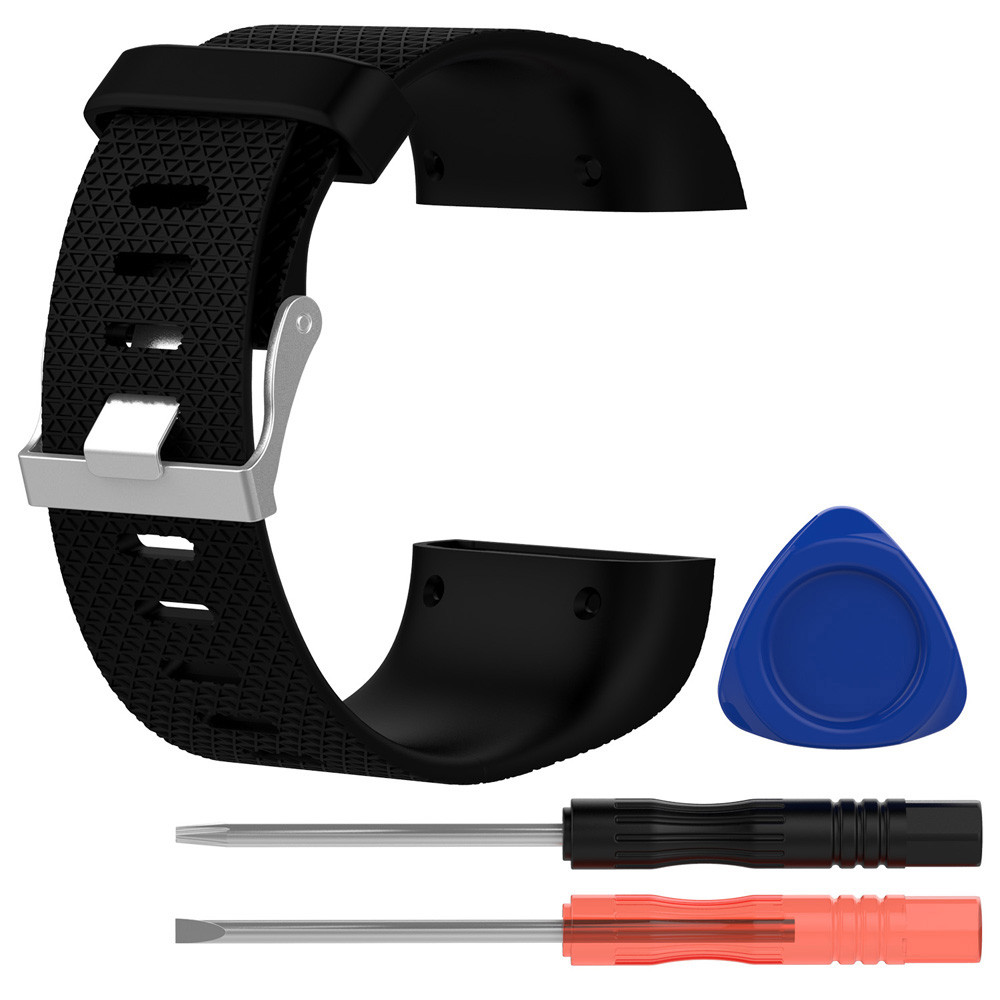 Replacement Wristband Band Strap Clasp Buckle Tool Kit For Fitbit Surge Bracelet silicone  dignity 8.14 makibes s1 replacement wristband strap blue