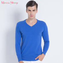 ФОТО new arrival man sweaters 100% cashmere and wool knitwear hot sale vneck pullovers for male clothes high soft and quality jumpers