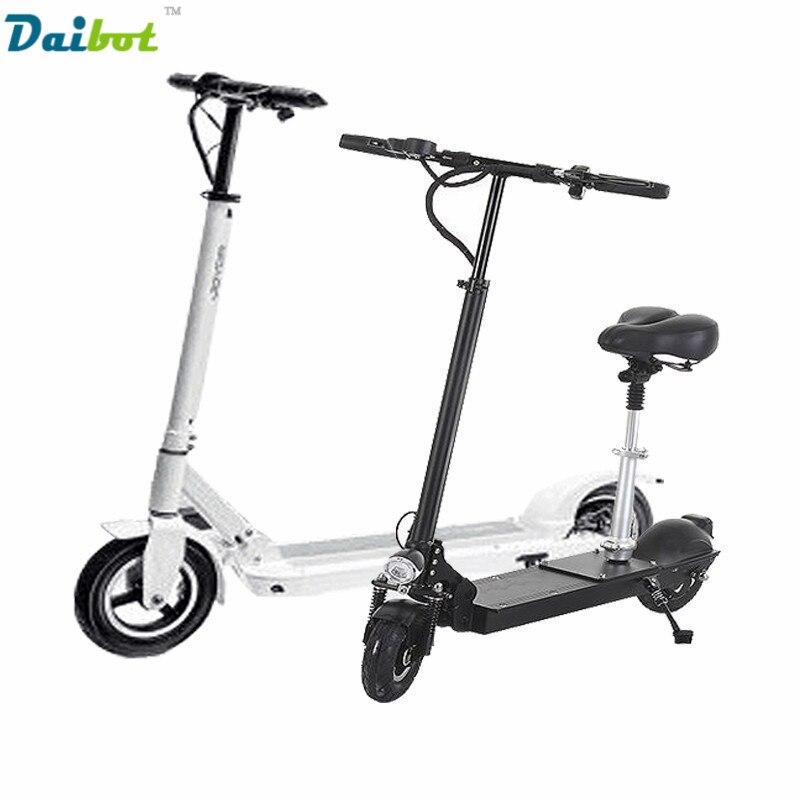 Daibot X1 X3 X5 X5 Pliable Electirc Scooter 10 Pouce vélo pliant Électrique Planche À Roulettes Hoverboard Kick Scooter USB de charge