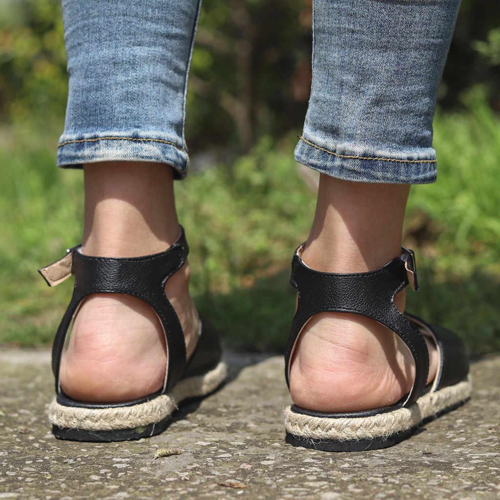 SAGACE Roman Sandals Women Flat  Female Shoes Fashion Comfortable Beach Shoes For Ladies Sandal Casual Roman Sandals Ladies Flat