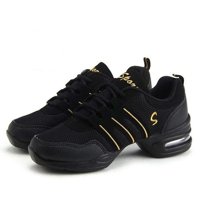 Las mujeres Zapatos de baile Jazz Hip Hop Zapatos Mujer Zapatos Zapatillas  para plataforma deportes Dancing 25d4fd85f1b