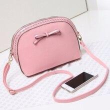 New FashionWomen's Handbag Satchel Bolsas Femininas Shoulder Leather Messenger Cross Body Bag Purse Tote Small Phone Bags