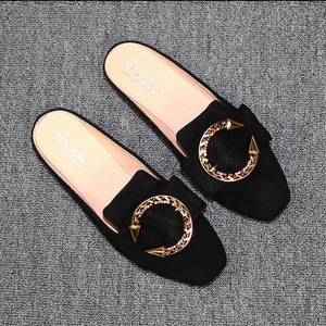 Spring Summer Square Toe Flat