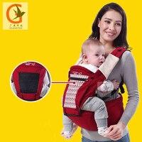 Marke Säuglingskleinkindsonnehut Ergonomische Babytrage Schlinge Rucksack Mit Hipseat Wrap Neugeborenen Träger Mit Winddicht Hut Aby-8023