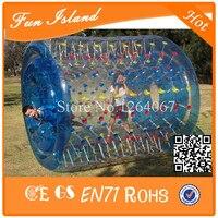 Бесплатная доставка 1.0 мм ПВХ Летний Лидер продаж надувных шарика, ригель ролик мяч, людской мяч для продажи