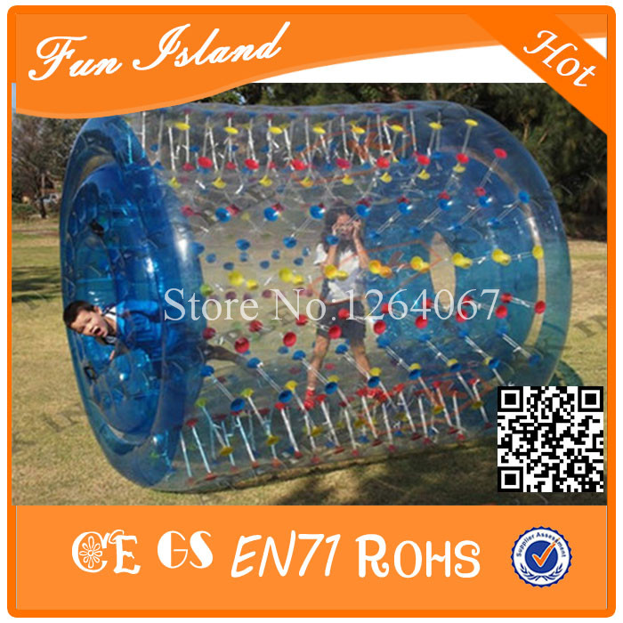 Free Shipping 1.0mm PVC Summer Hot Sale Inflatable Water Roller Ball,Water Waling Roller Ball,Human Hamster Ball For Sale inflatable water spoon outdoor game water ball summer water spray beach ball lawn playing ball children s toy ball
