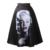 Una línea de midi de las mujeres falda de cintura alta con estampado floral vintage mujeres de la falda del vestido de bola plisado negro verde Monroe moda 2016 verano