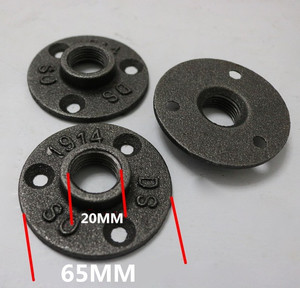 """Image 1 - 鋳鉄管フランジDN15 クラシック鋳造鉄フランジ 1/2 """"10 ピース/ロット鋳鉄フランジアルミ合金フランジG3/4"""