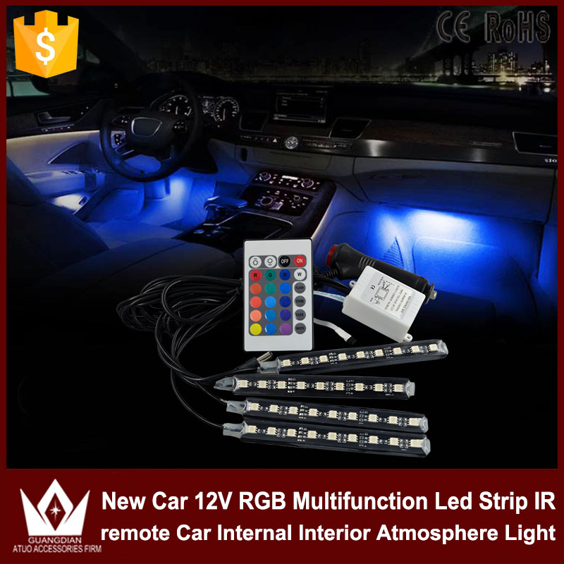 Tcart 1 set car led rgb neon lamp auto led interior strips tcart 1 set car led rgb neon lamp auto led interior strips atmosphere lights with remote control for chevrolet cruze accessories in signal lamp from aloadofball Gallery
