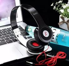 2016 hot Heavy Bass Comfortable Computer Games  Sports Headphone  Jack folding Earphone Headset for pc iphone Samsung xiaomi