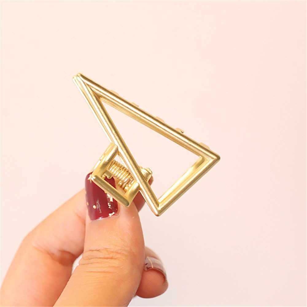 European and American Style Temperament Geometric Starfish Hair Grab Mini Metal Hairpin Hair Accessory for Women