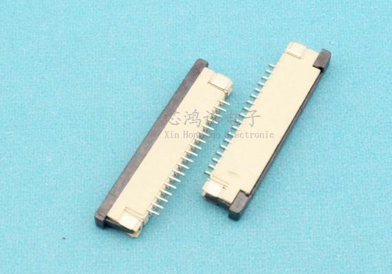 Flexible Flat Cable With Ends : Free shipping new ffc fpc flexible flat cable connector