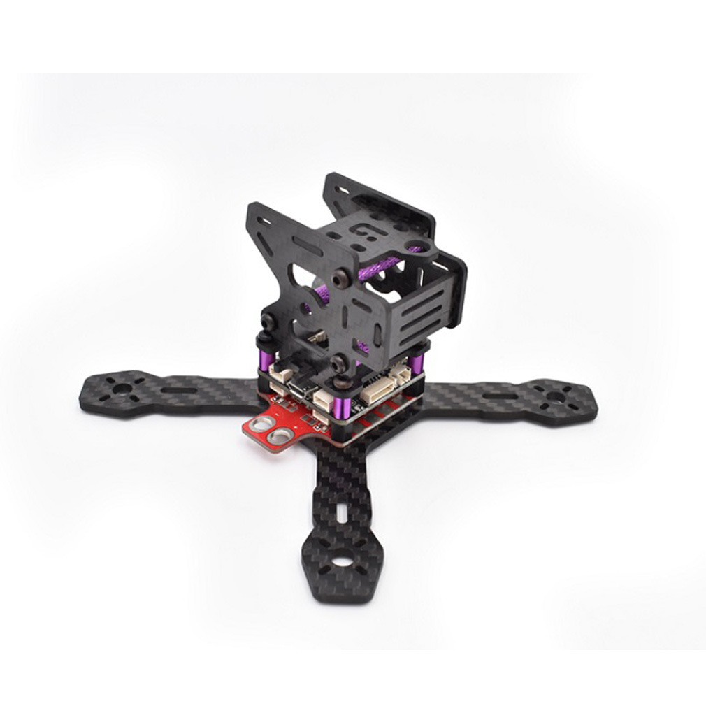 iflight FPV RX130 RX150 Mini Racing Through Quadcopter Frame with Carbon Fiber 3mm Plate/PCB/XT60 4-axis Aircraft inov 8 кроссовки f lite 230 8 5 black