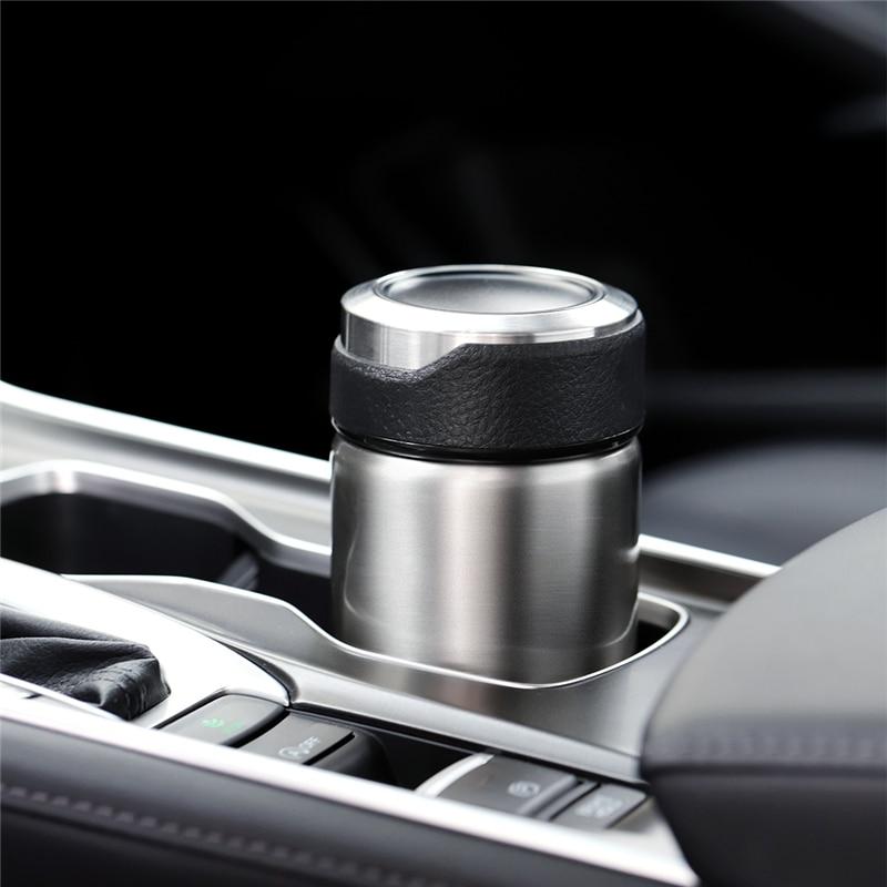Vacuum Flasks Coffee Thermos Bottles Tea Infuser Coffee Mug 304 Stainless Steel My Car Thermal Insulation Bottle 380ml 680ml