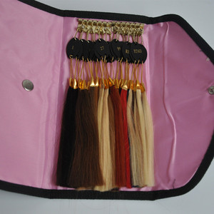 Image 4 - 100% Remy Human Hair Color Rings Color Chart / Hair Extension Tools/Hair Accessory