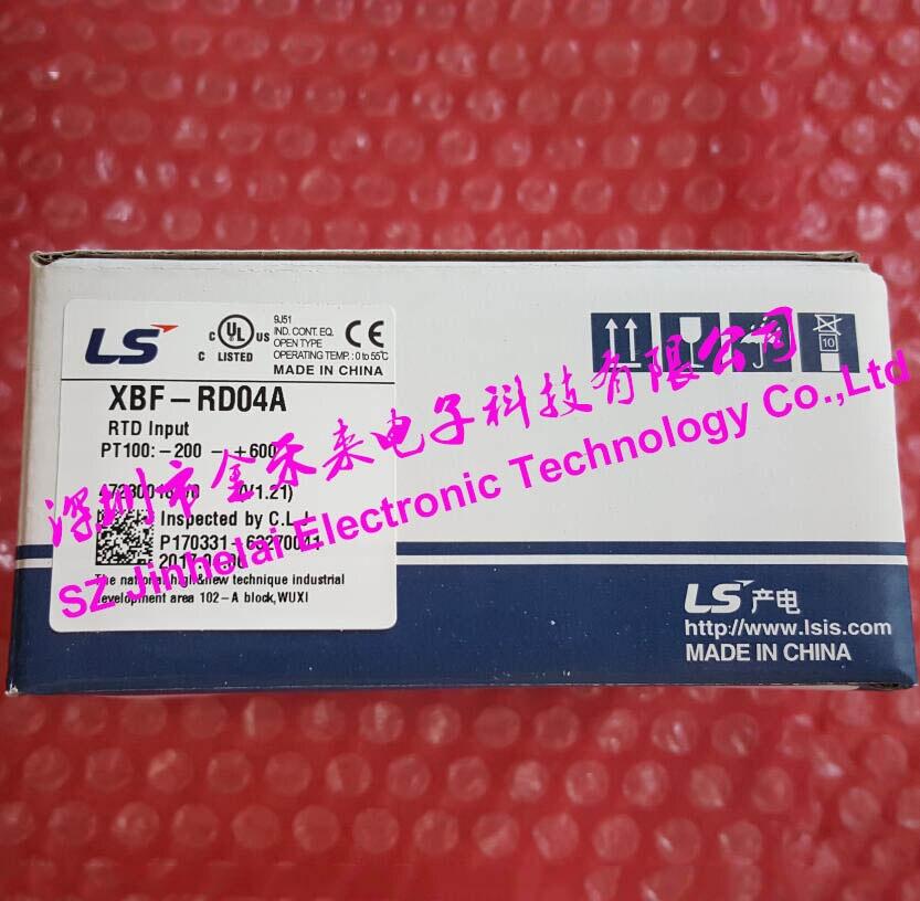 100% Nuovo ed originale XBF-RD04A LS (LG) PLC 4 canali ingresso resistenza termica