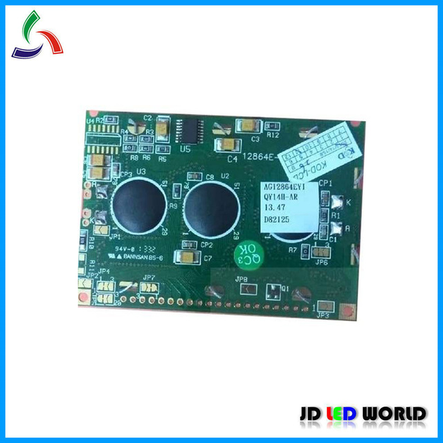 AG12864EYI AG12864E 12864E 2 وحدة LCD استبدال المنتج