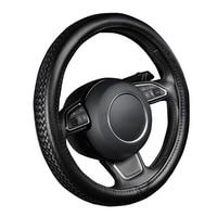 LCRTDS PU Leather Steering Wheel Cover For Lifan solano x50 x60 maserati ghibli levante mazda cx 5 2018 cx7 mazda 2