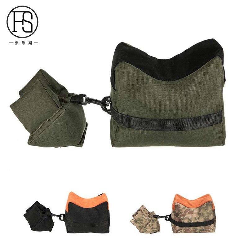 Military Target Shooting Rifle Front Rear Bag Outdoor Hunting Tactical Sandbag Support Package Gun Bench Bag