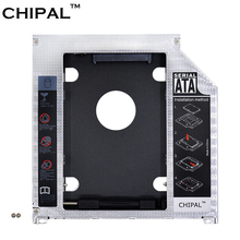CHIPAL Aluminum 2nd HDD Caddy 9.5mm SATA 3.0 SSD Case HDD Enclosure for Apple Macbook Pro Air 13″ 15″ 17″ SuperDrive Optibay