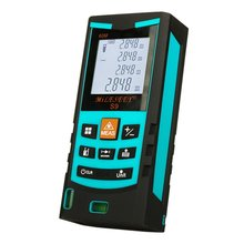 Laser Telemeter Laser Tape Measure Electronic Tape Measure Laser Range Finder S9 40M laser meter Blue