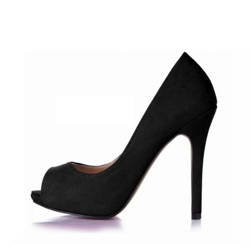women sexy high heels shoes woman wedding slip on peep toe pumps party dress valentine shoes zapatos mujer tacon plus size 43 enmayer pointed toe sexy black lace party wedding shoes woman high heels shallow pumps plus size 35 46 thin heels slip on pumps