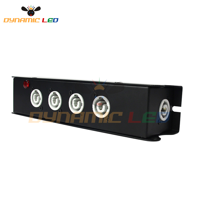 4 Port Powercon Power Box For Dj Stage Lighting