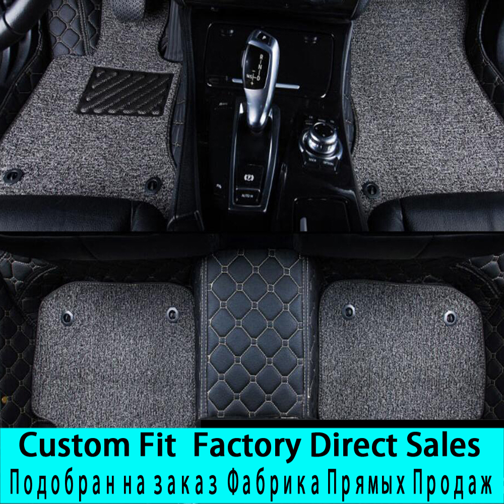 SUNNYFOX car floor mats for Audi A8 L A8L 5D foot case all weather car styling rugs perfect carpet liners (2002-now)SUNNYFOX car floor mats for Audi A8 L A8L 5D foot case all weather car styling rugs perfect carpet liners (2002-now)
