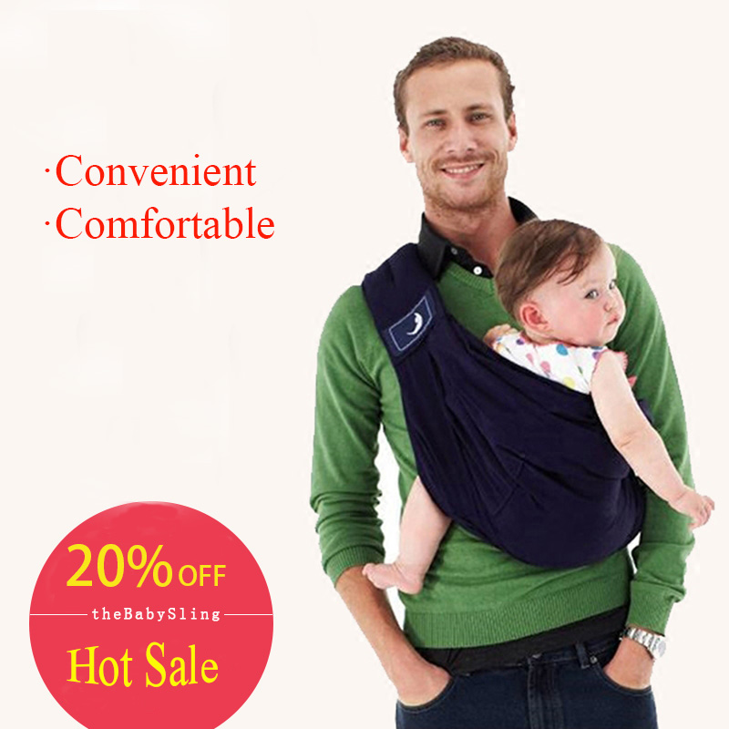 Slings-Wrap Backpack-Carrier Ergonomic Kangaroo Baby Kids 100%Organic-Cotton High-Quality title=