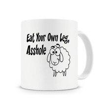 Vegetarisch Geschenke Essen Ihre Eigenen Bein Becher freunde Geschenk kaffeetasse keramik Tee mugen abziehbild küche freund geschenke