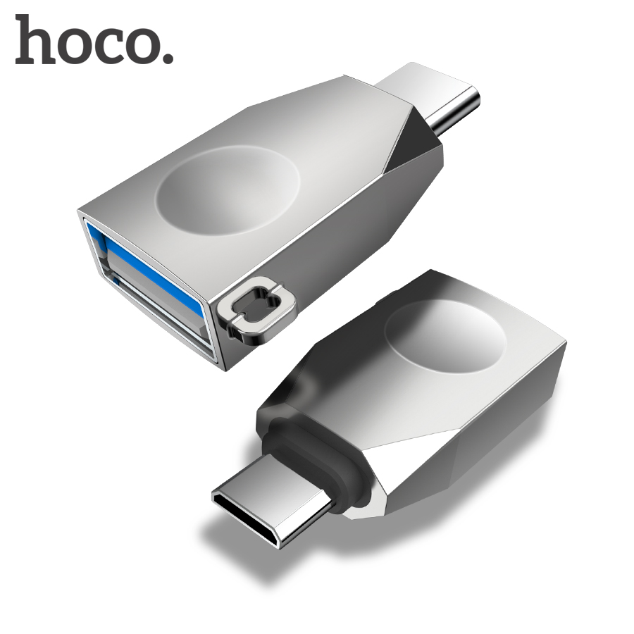HOCO Micro USB Type C OTG Adapter USBC Type-c OTG Converter For Xiaomi Mix2s 8 Mix3 One Plus 6t 6 Huawei Mate 20 Pro USB Adapter