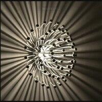 Nordic чердак книги по искусству Медузы личность потолочный светильник для ресторана Коралл рыба кафе украшения стены/потолочный светильник