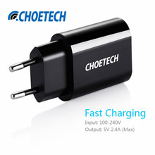 Smart Phone USB Charger 5V 2.4A US EU Plug Travel Charger Adapter USB Wall Mobile Charger for Xiaomi for iPhone for Samsung