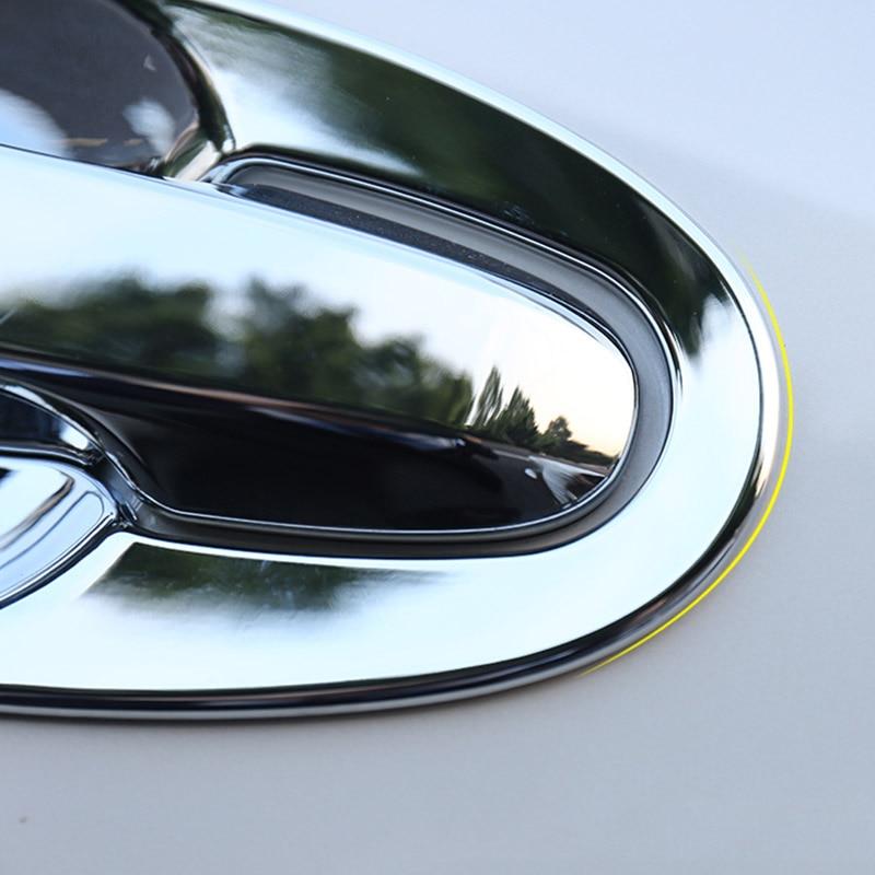 For Subaru XV Crosstrek 2018 2019 Chrome Side Door Rearview Mirror Cover Trim