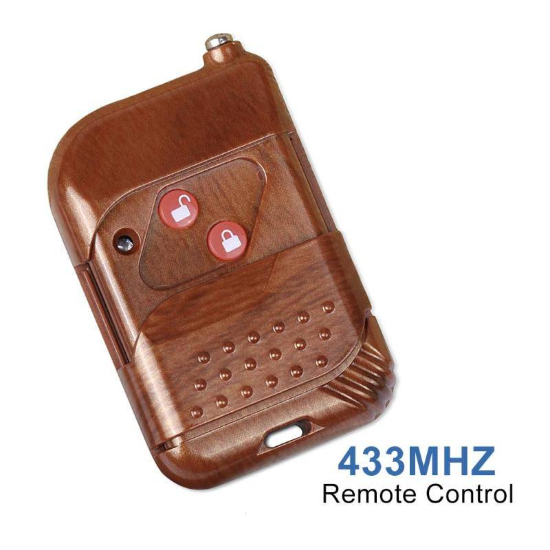 QIACHIP 433Mhz 2 CH Buttons RF Wireless Remote Control Light LED Switch Learning Code EV 1527 Transmitter for Smart Home H2