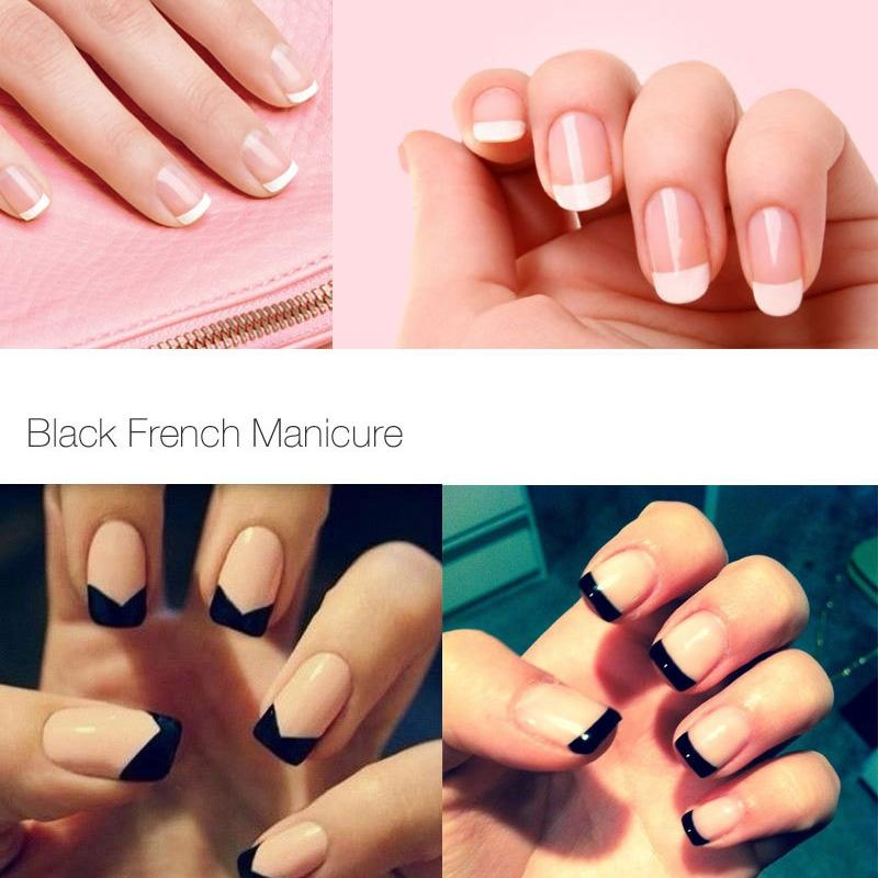Focallure Sexy mix French Manicure Kit Nail Gel Polish Nail Gel Polish Soak off UV White Color Gel Polish