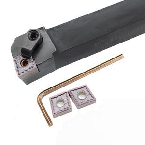 Image 4 - CNMG120408 LM HP1025 10 قطعة + 1 قطعة MCLNR2020K12 كربيد إدراج ل آلة خرط تعمل بالتحكم الرقمي بواسطة الحاسوب Turnning القاطع حامل تحول أدوات حامل