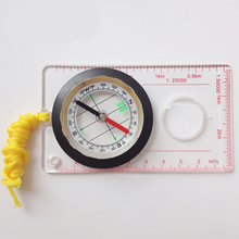 Camping Directional Cross-country Race Hiking Special Compass Baseplate Ruler Map Scale Compass Equipment Bussola